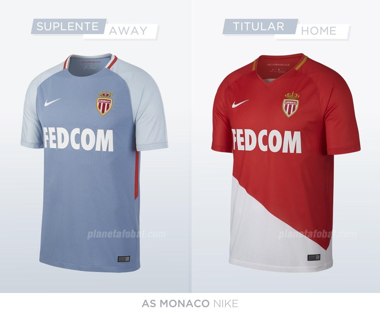 Camiseta AS Monaco nuevas