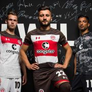 Camisetas Under Armour 2017-18 del St Pauli | Foto Web Oficial