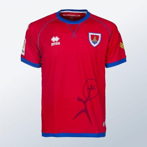 Camiseta titular Erreà 2017-18 del Numancia | Foto Web Oficial