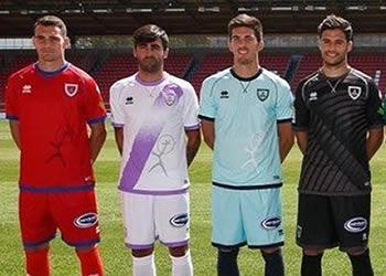 Camisetas Erreà 2017-18 del Numancia | Foto Web Oficial