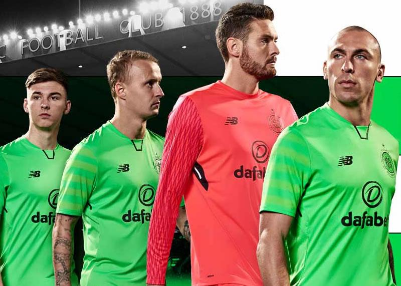Tercera camiseta del Celtic de Escocia   Foto New Balance