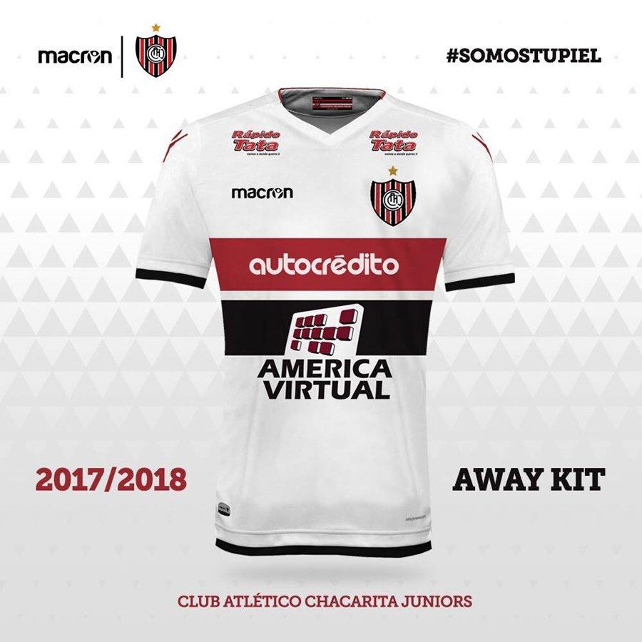 Nuevo kit alternativo de Chacarita Juniors | Foto Twitter Oficial