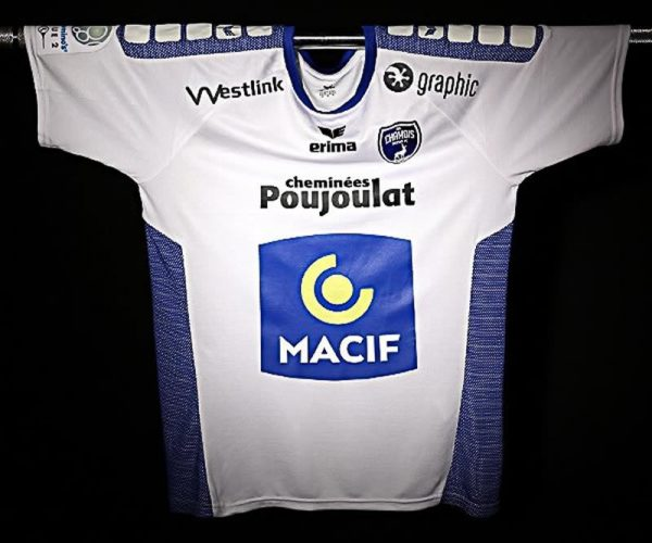 Camiseta suplente Erima del Chamois Niortais | Foto Web Oficial
