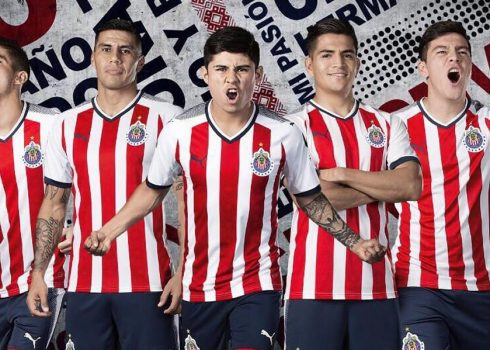 Camiseta titular de las Chivas de Guadalajara   Foto Puma