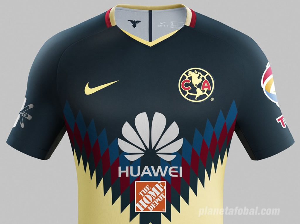 Camiseta titular del Club América | Foto Nike