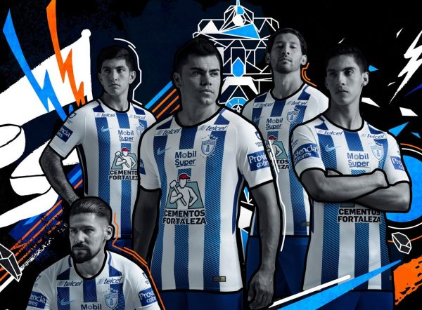 Camiseta titular Nike de los Tuzos del Pachuca | Foto Facebook Oficial