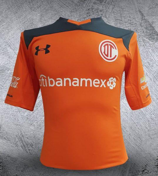 Camiseta de porteros Under Armour del Club Toluca | Foto Twitter Oficial