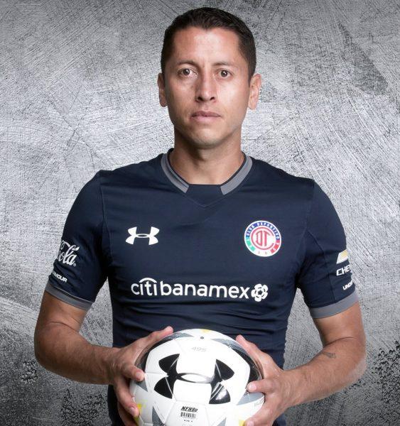 Tercera camiseta Under Armour del Club Toluca | Foto Twitter Oficial
