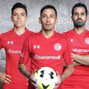 Camiseta titular Under Armour del Club Toluca | Foto Twitter Oficial
