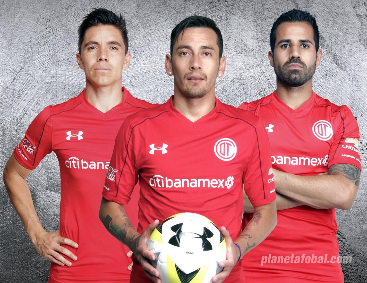 Agotar Esmerado suficiente  Camisetas Under Armour del Toluca 2017/18