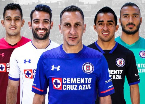 Nuevas camisetas Under Armour del Cruz Azul | Foto Facebook Oficial