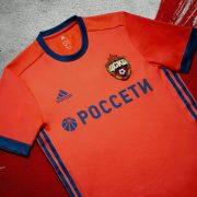 Camiseta suplente del CSKA Moscú | Foto Adidas