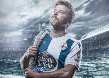 Nueva equipación Macron del Deportivo La Coruña | Foto Captura