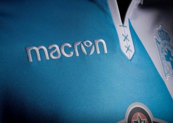 Nueva equipación suplente Macron del Deportivo La Coruña | Foto Twitter @RCDeportivo