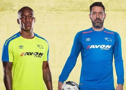 Nueva camiseta suplente Umbro del Derby County | Foto Web Oficial