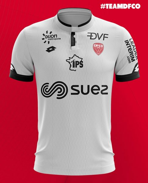 Camiseta suplente del Dijon FCO | Foto Web Oficial