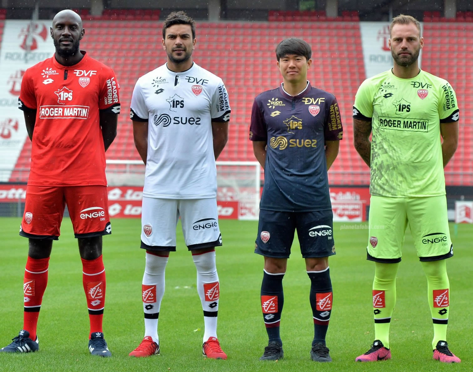 Camisetas del Dijon FCO | Foto Web Oficial