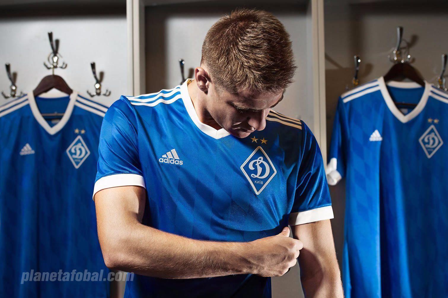 Camiseta suplente Adidas del Dynamo Kyiv | Foto Web Oficial