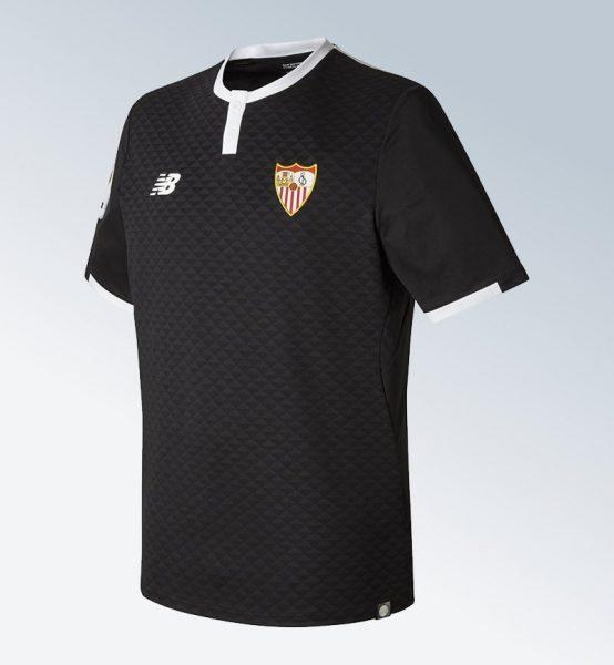 Tercera camiseta 2017-18 del Sevilla | Foto New Balance