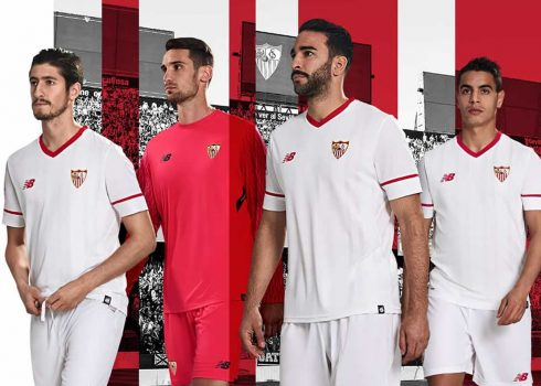 Camiseta titular 2017-18 del Sevilla | Foto New Balance