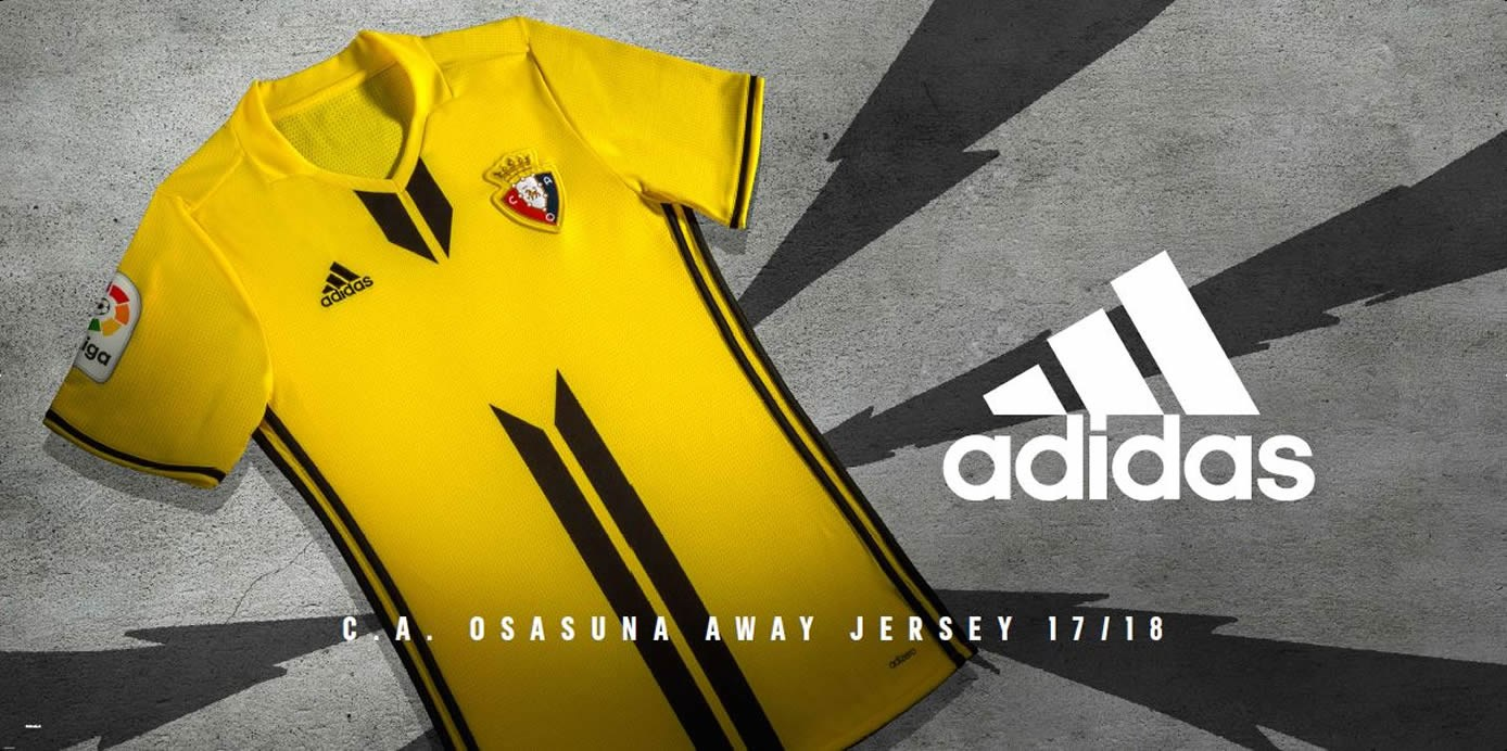 Camiseta suplente Adidas del Osasuna | Foto Web Oficial