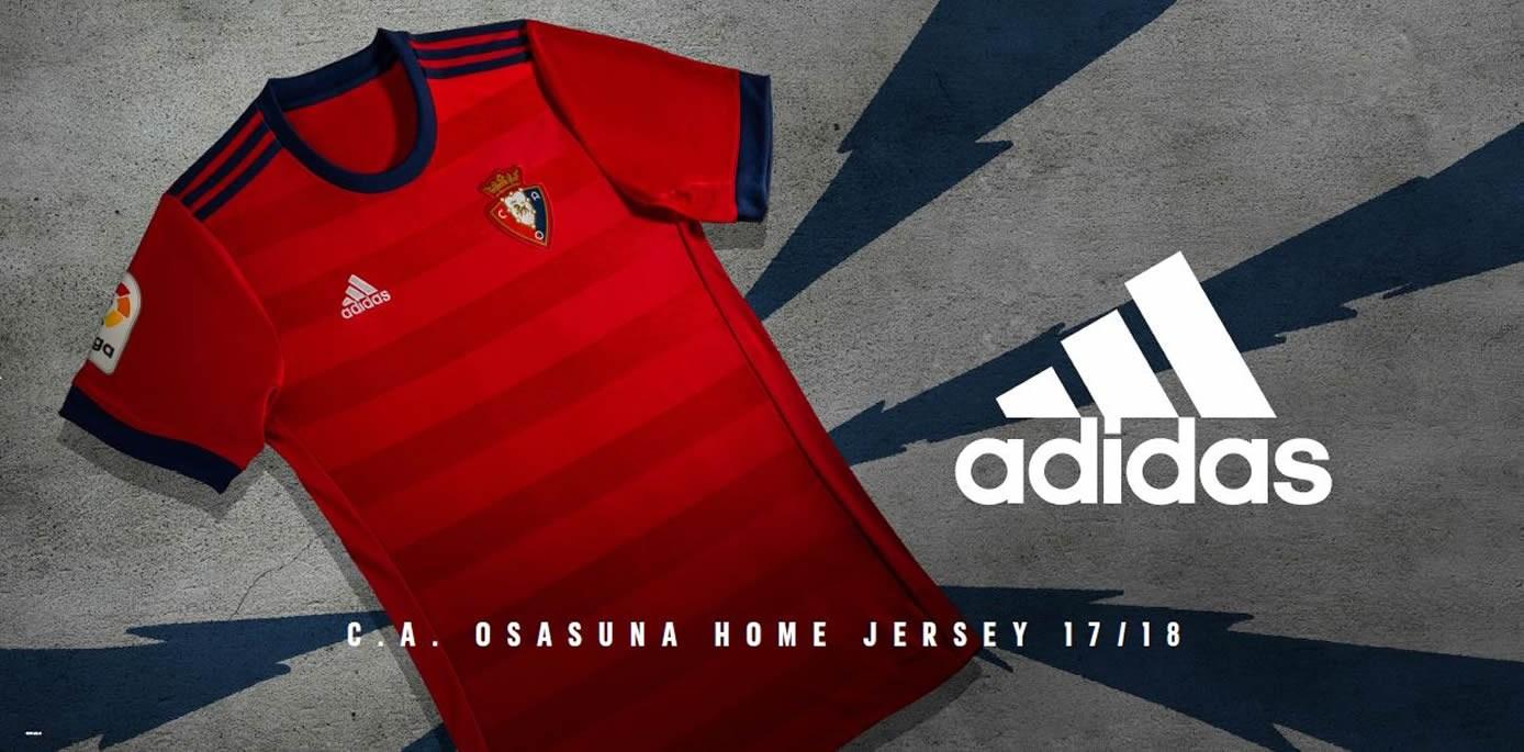 Camiseta titular Adidas del Osasuna | Foto Web Oficial