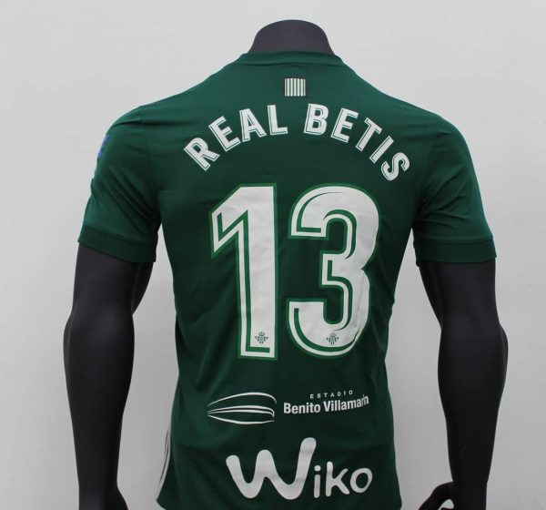 Camiseta suplente Adidas 2017-18 del Betis | Foto Facebook Oficial