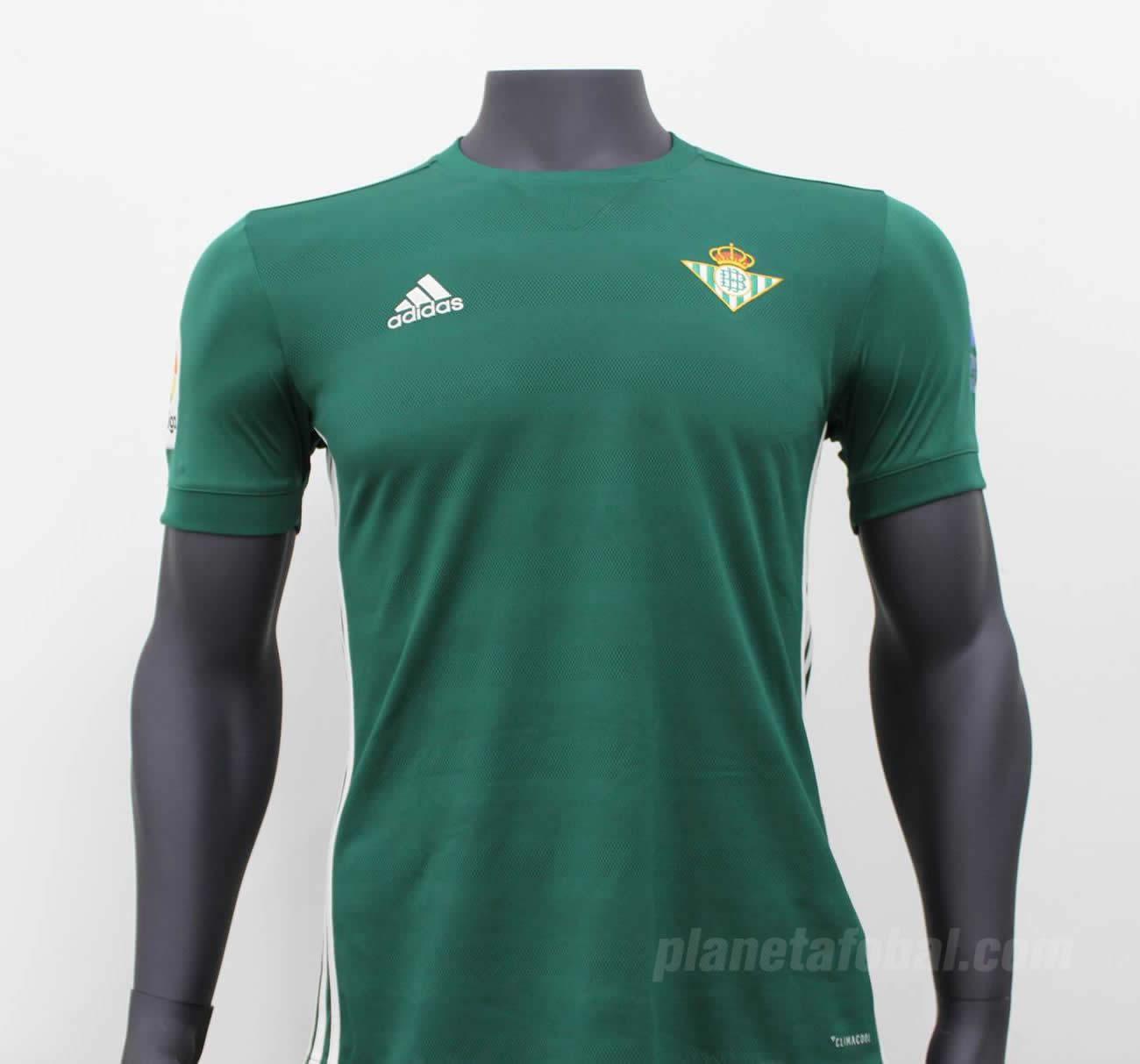 Camiseta suplente Adidas 2017-18 del Betis  720add222fcfe