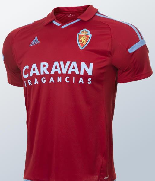 Camiseta suplente Adidas 2017-18 edl Real Zaragoza | Imagen Twitter Oficial