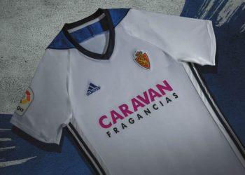 Camiseta titular Adidas 2017-18 edl Real Zaragoza | Foto Web Oficial