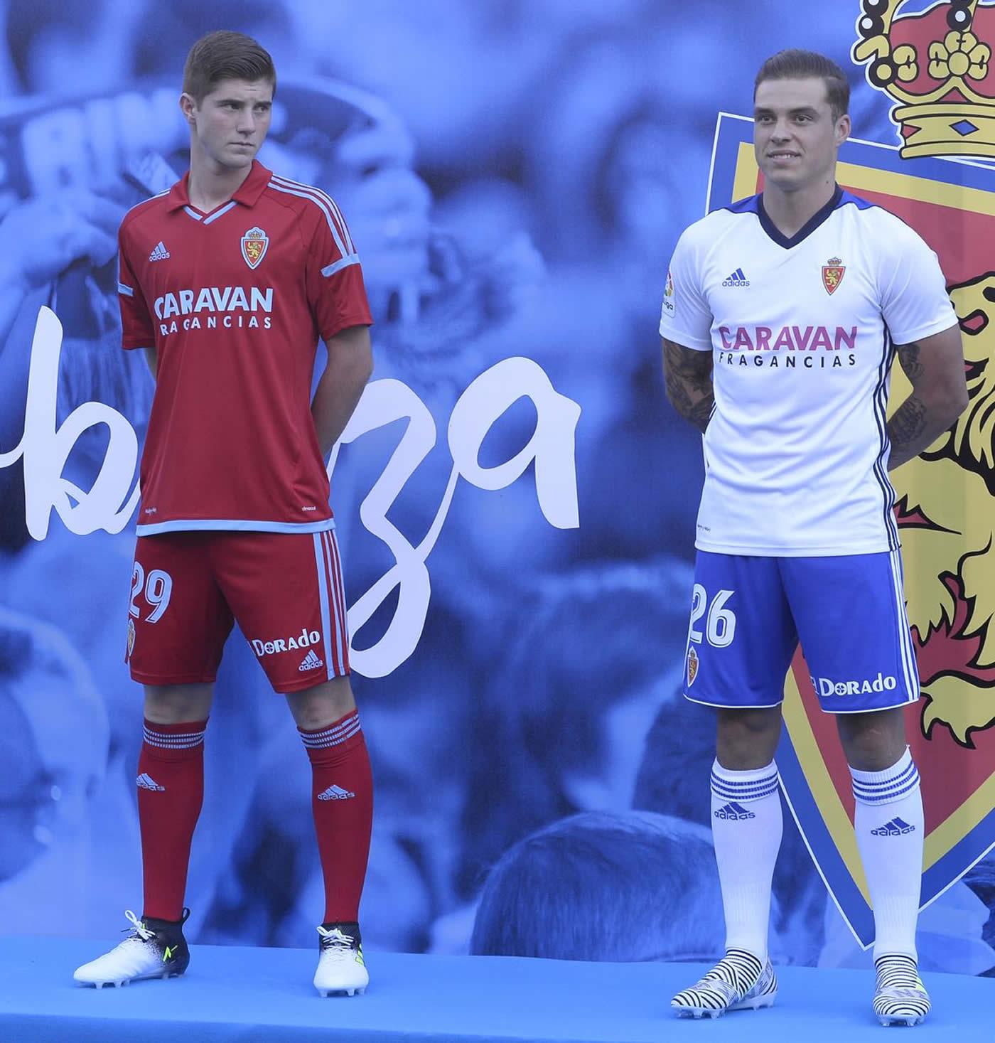 Camisetas Adidas 2017-18 edl Real Zaragoza | Foto Web Oficial