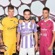 Camisetas Hummel del Real Valladolid   Foto Twitter Oficial