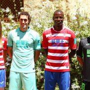 Equipaciones de juego Joma del Granada CF | Foto Web Oficial