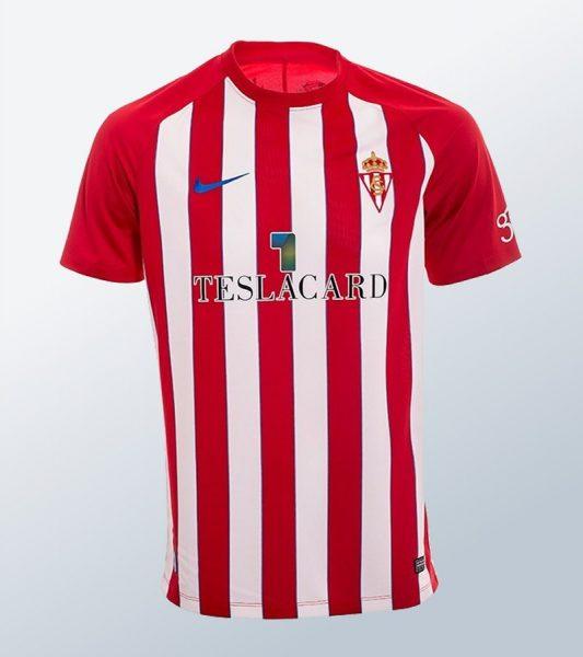 Camiseta titular Nike del Sporting de Gijón | Imagen Web Oficial