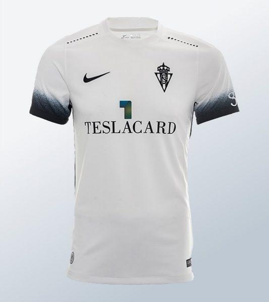 Camiseta suplente Nike del Sporting de Gijón | Imagen Web Oficial