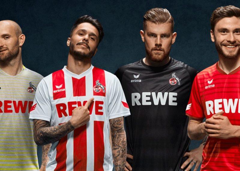 Camisetas Erima del FC Köln | Foto Web Oficial