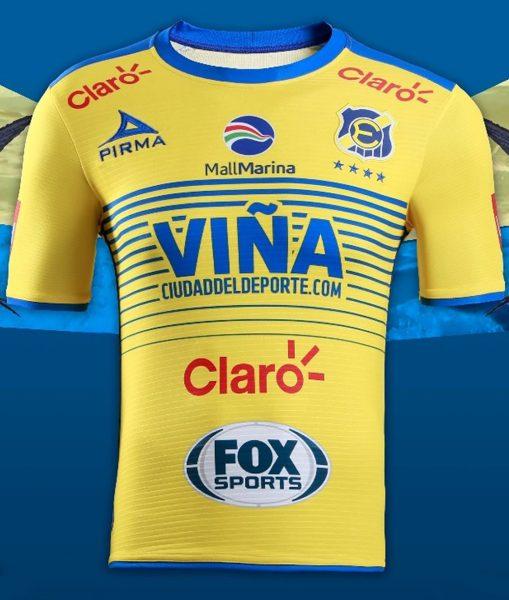Camiseta suplente del Everton de Viña del Mar | Foto Web Oficial