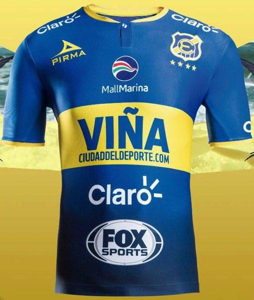 Camiseta titular del Everton de Viña del Mar | Foto Web Oficial