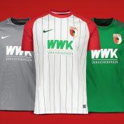Camisetas Nike 2017-18 del FC Augsburg | Foto Web Oficial