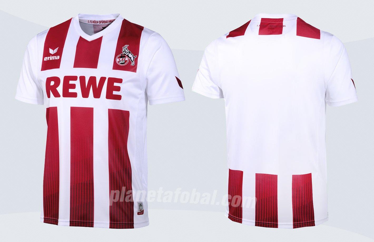 Camiseta titular Erima 2017-18 del FC Köln | Imágenes Web Oficial