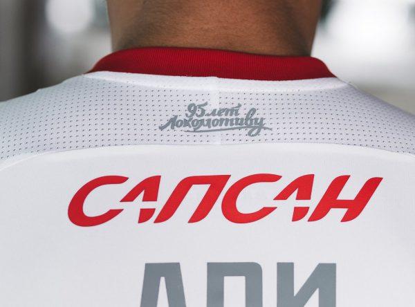 Camiseta suplente del FC Lokomotiv Moscú | Foto Web Oficial
