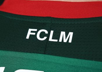 Camiseta titular del FC Lokomotiv Moscú | Foto Web Oficial