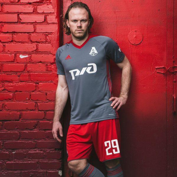 Tercera camiseta del FC Lokomotiv Moscú | Foto Web Oficial