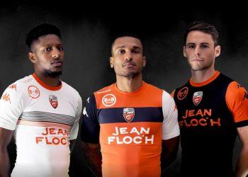 Nuevas camisetas Kappa 2017-18 del FC Lorient | Foto Web Oficial