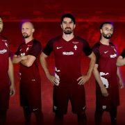 Camiseta titular Nike 2017-18 del FC Metz   Foto Nike