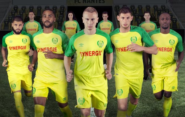 camiseta titular umbro del fc nantes 2017 18 planeta fobal. Black Bedroom Furniture Sets. Home Design Ideas