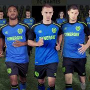 Camiseta suplente Umbro del FC Nantes | Foto Web Oficial
