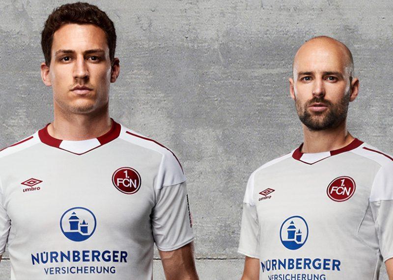 Camiseta suplente Umbro del 1 FC Nürnberg   Foto web oficial