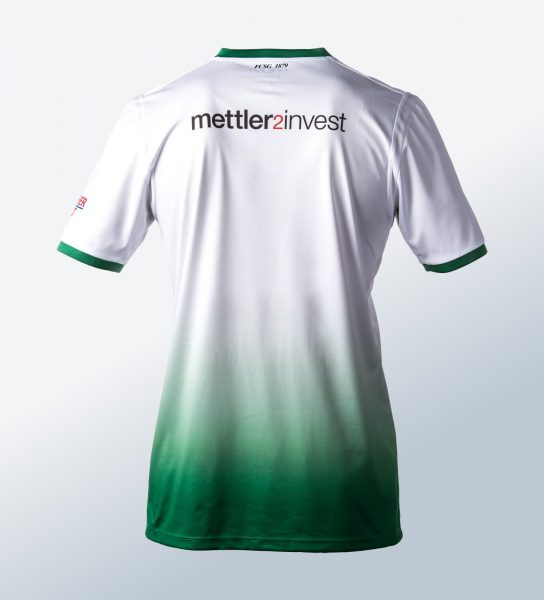 Camiseta suplente Jako del St. Gallen | Foto Web Oficial