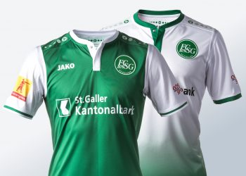 Camisetas Jako del St. Gallen | Foto Web Oficial